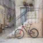 Bike & Stairs in Split, Croatia